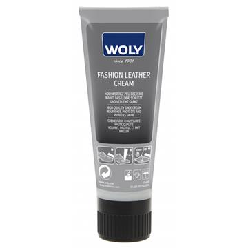 WOLY FASHION LÆDER CREME - SORT